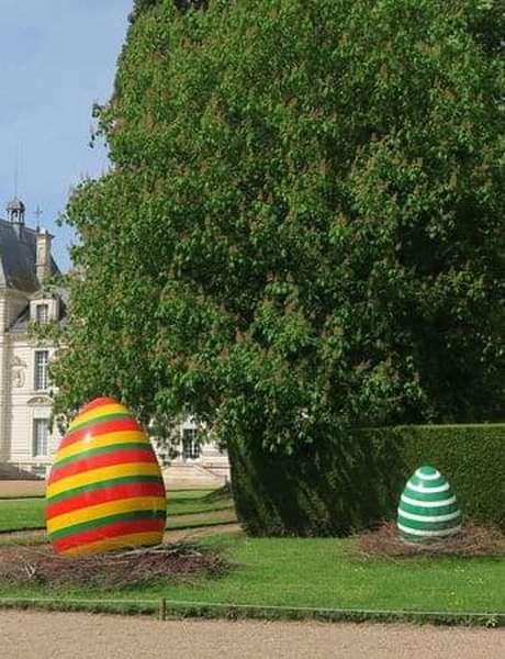 Pâques au château de Cheverny