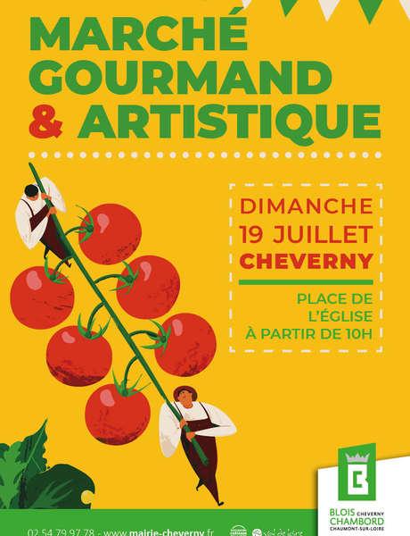 Marché gourmand et artistique (confirmé)
