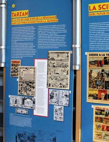 Exposition -  La Résistance vue par la bande dessinée