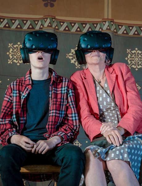 Réalité virtuelle au Château Royal de Blois