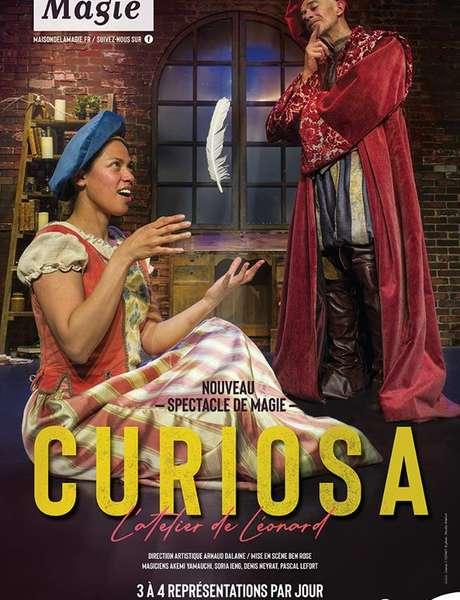 Spectacle de magie « Curiosa, l'atelier de Léonard »