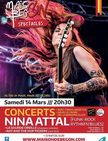 Concert : Nina Attal