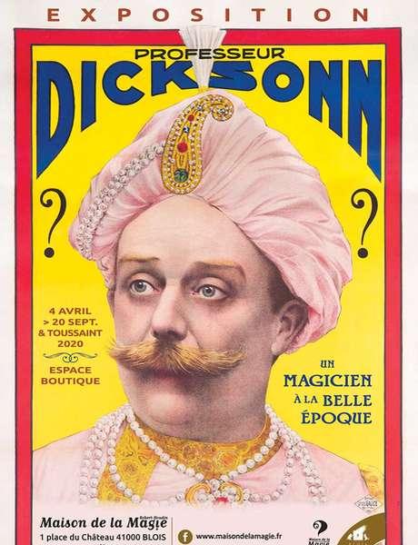 Exposition Professeur Dicksonn, un magicien à la Belle Époque (confirmé)