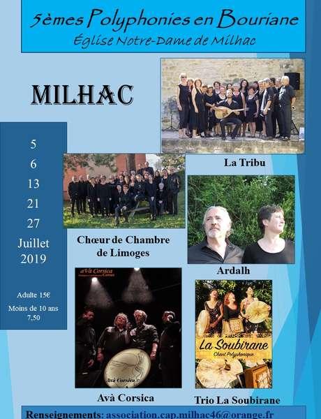 """5ème Festival """"Polyphonies en Bouriane"""""""