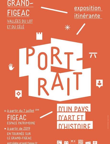 """Exposition Temporaire """"Vallées du Lot et du Célé - Portrait d'un Pays d'Art et d'Histoire"""""""
