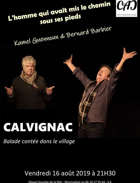 Balade Contée dans le Village de Calvignac