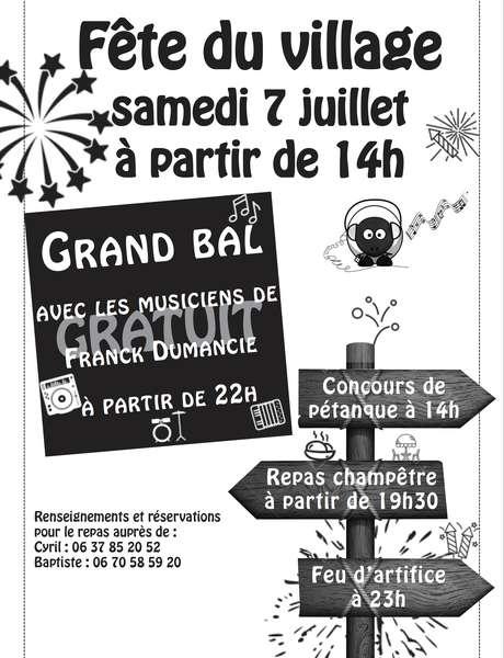 Fête du Village de Saint-Jean Lagineste
