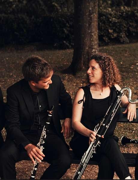 Les Rencontres Estivales de Gourdon : Concert avec le Quatuor de Clarinettes ''Anches Hantées''