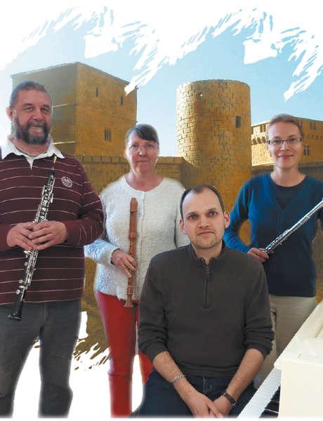 Les Rencontres Estivales de Gourdon : Concert aux Chandelles  '' Musiques autour de 1619 ''