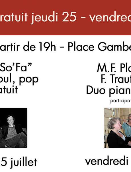 """Concert du """"Duo So'Fa"""""""
