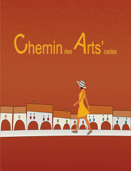 """Chemin des Arts'cades : Expositions et Animations """"Voyage"""""""
