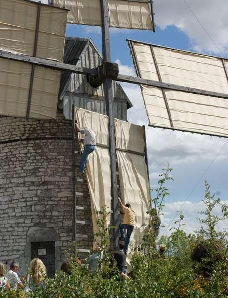 Mise au Vent et Visites Commentées du Moulin à Vent de Boisse