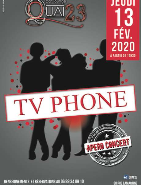 Apéro Concert : TV Phone