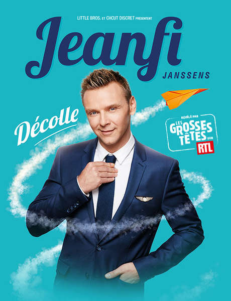 Spectacle : Jeanfi Janssens