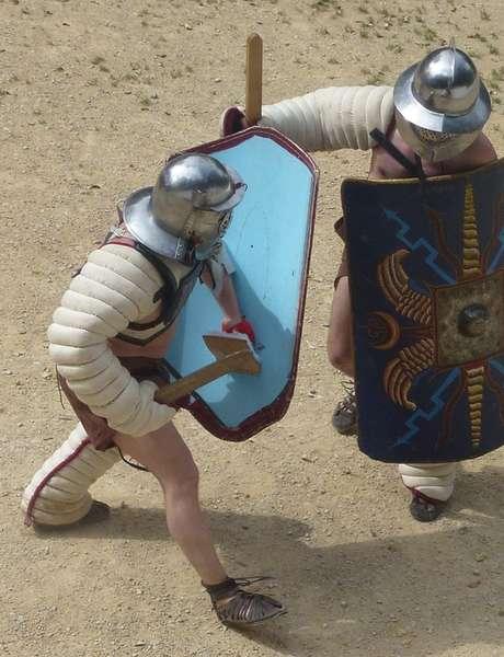 Combats de gladiateurs