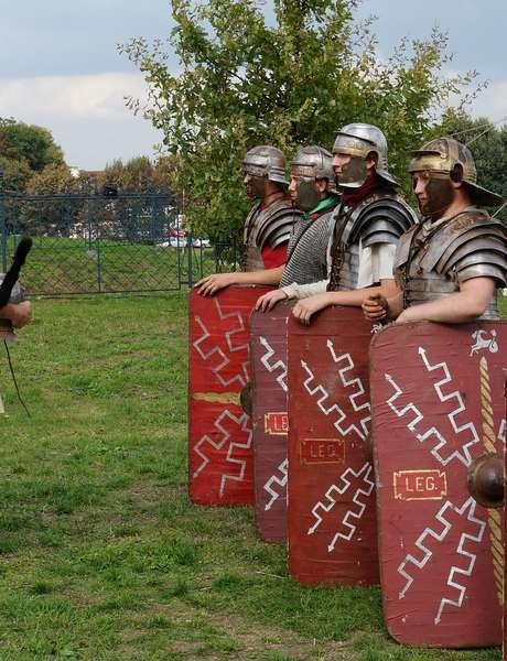 Joutes guerrières entre romains et celtes