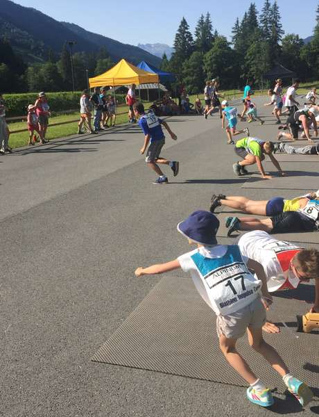 Biathlon challenge for all the family