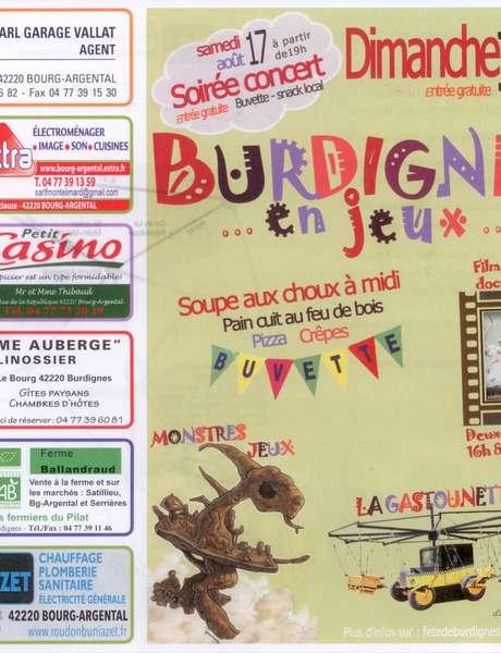 Burdignes en fête : Soirée concert