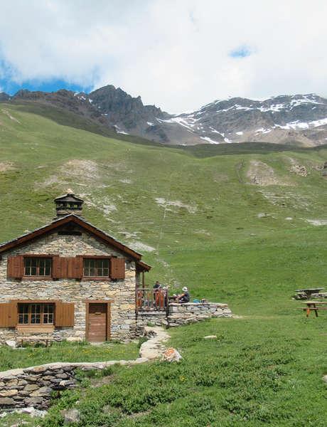 Rencontre au refuge de Vallonbrun - Parc national de la Vanoise