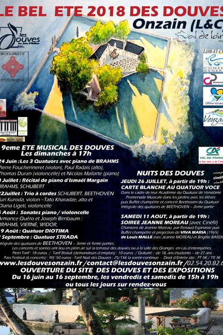 L'été musical des Douves - Trio à cordes