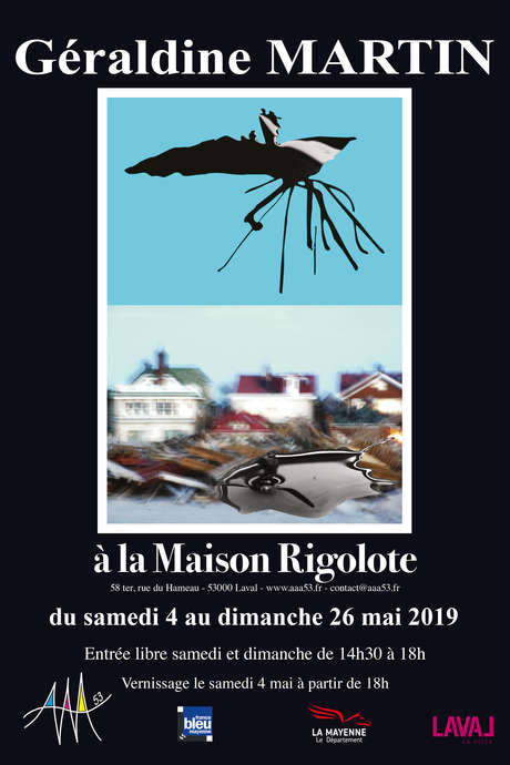 Exposition : Géraldine Martin à la Maison Rigolote