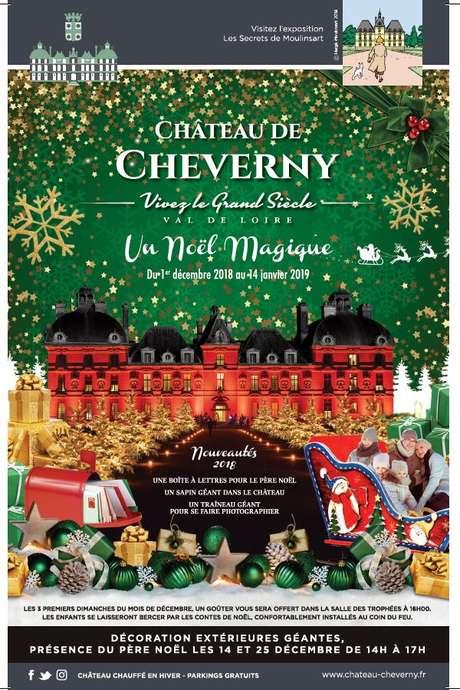Un Noël magique au Château de Cheverny