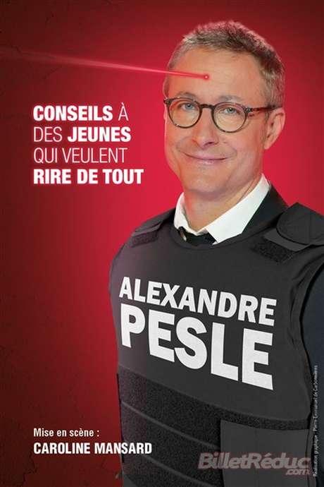 One Man Show : Alexandre Pesle, reporté pour cause de blocage national.