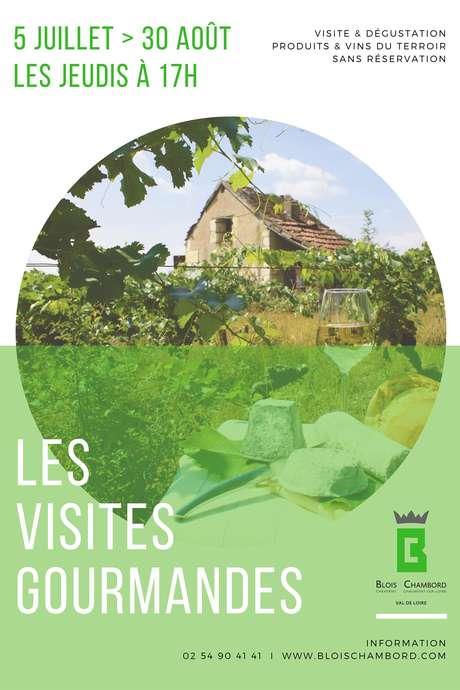 Visite gourmande : la Maison des vins de Chambord