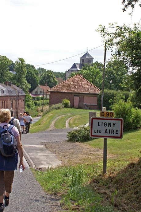 Randonnée le long de la Via Francigena