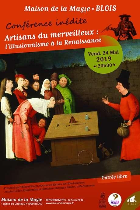 Conférence L'illusionnisme à la Renaissance