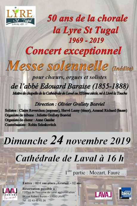 Concert 50ème anniversaire de la Lyre Saint-Tugal
