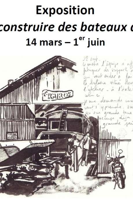 Exposition : Kaïros, construire des bateaux de Loire