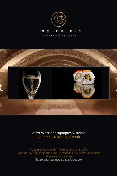 After Work Champagnes x Sushis par OenoSpheres