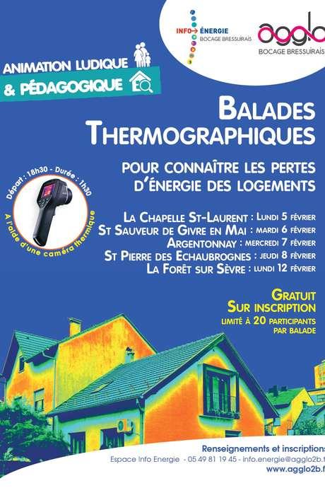 Balades Thermographiques - La Forêt sur Sèvre