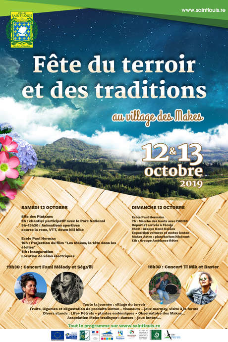 Fête du terroir et des traditions au village des Makes