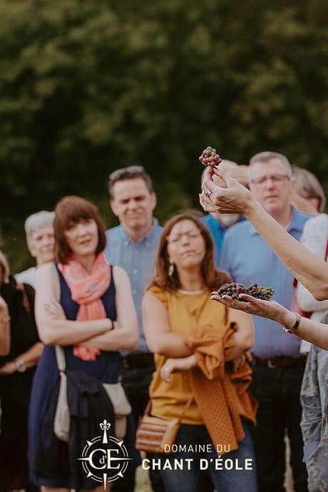 Les visites estivales du Chant d'Eole