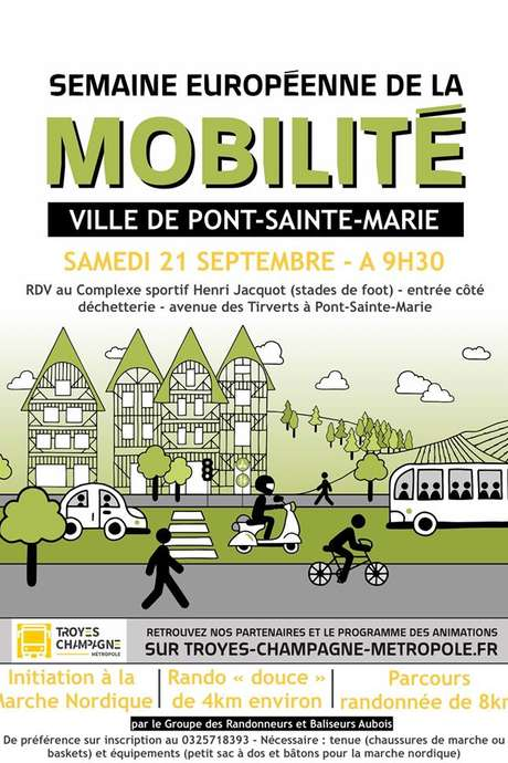 Semaine de la mobilité - Sainte Savine