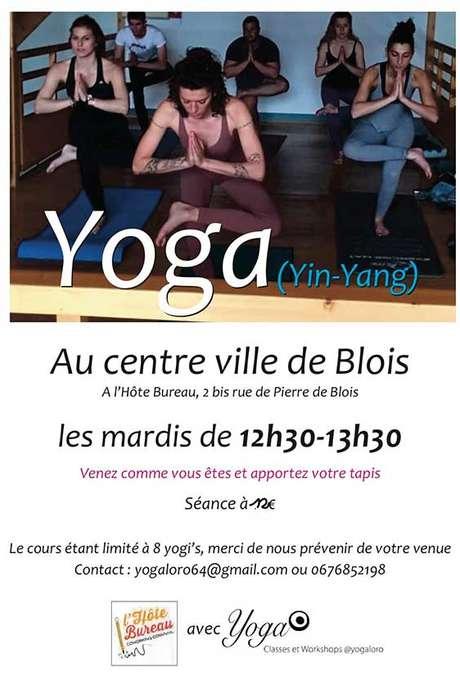 Cours de Yoga (Ying-Yang)