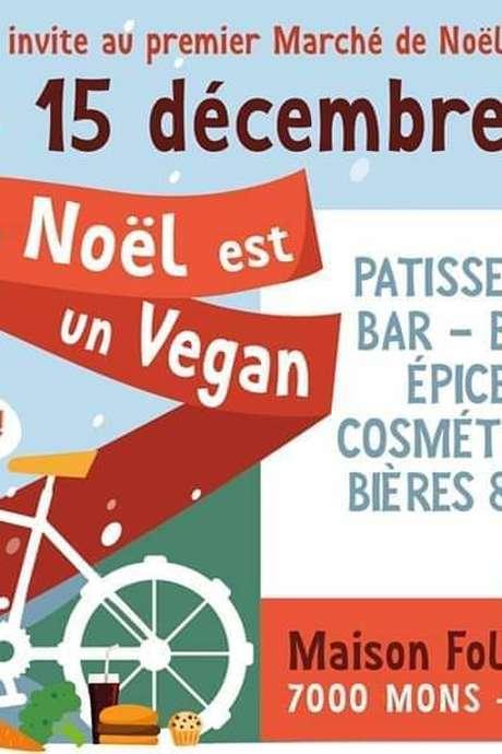 1er Marché de Noël Vegan Montois