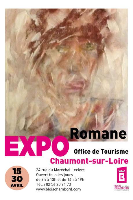 Exposition de la peintre Romane