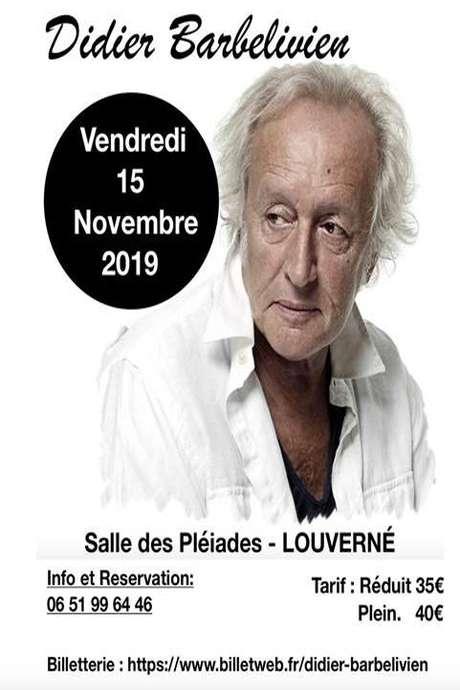 Concert : Didier BARBELIVIEN