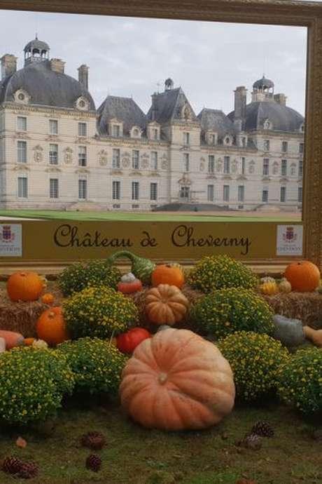 Jardins d'automne à Cheverny