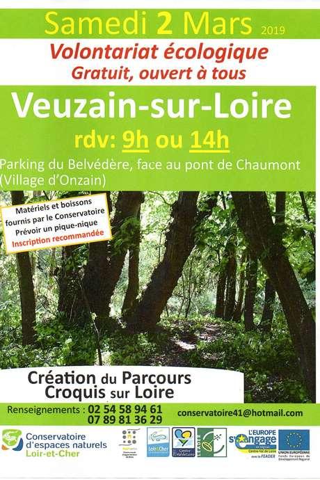 """Création du parcours découverte """"Croquis sur Loire"""""""