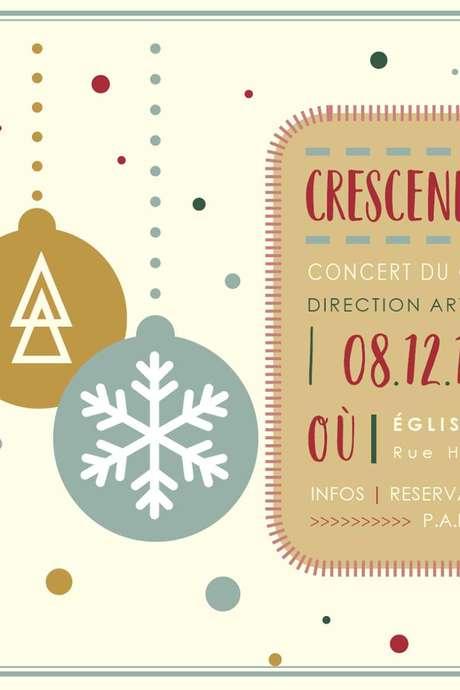 Crescendo chante Noël