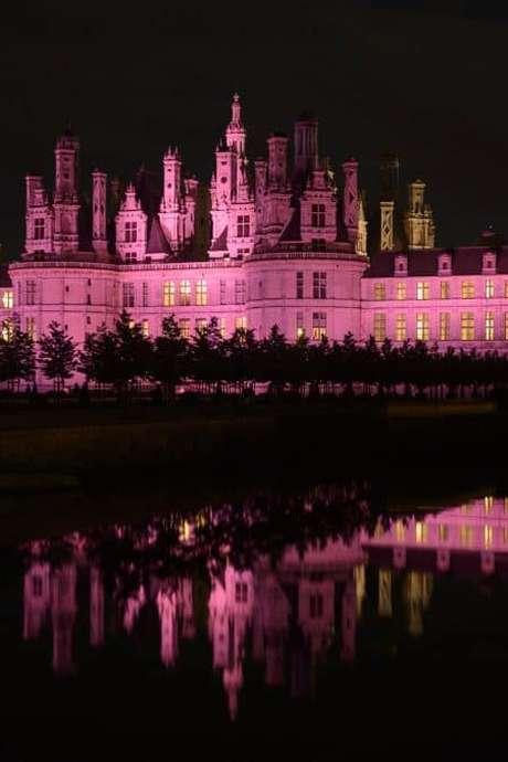 Mise en lumière du Château de Chambord