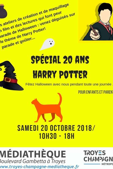 Fête Halloween avec Harry Potter !