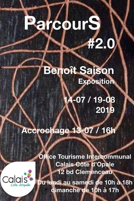 Exposition ParcourS #2.0 de Benoît Saison