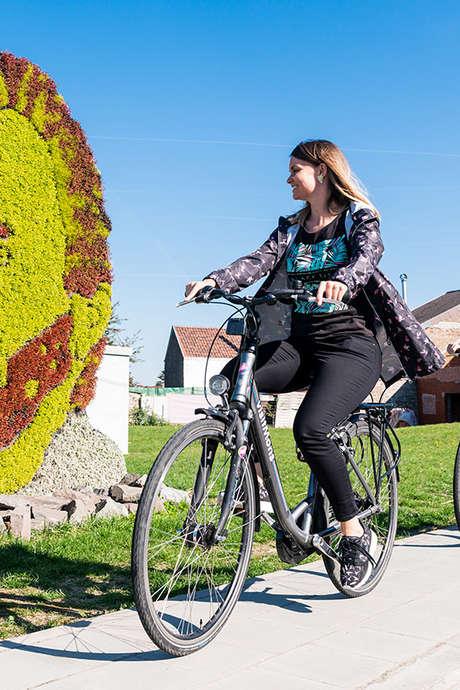 """Geleide fietstocht """"Vhello"""" in de voetsporen van Van Gogh in de Borinage"""
