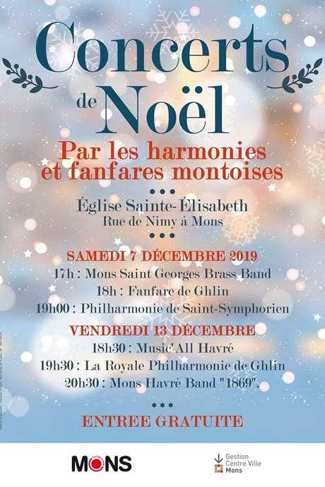 Mons Coeur en Neige - Kerstconcert door Bergense muziekgezelschappen