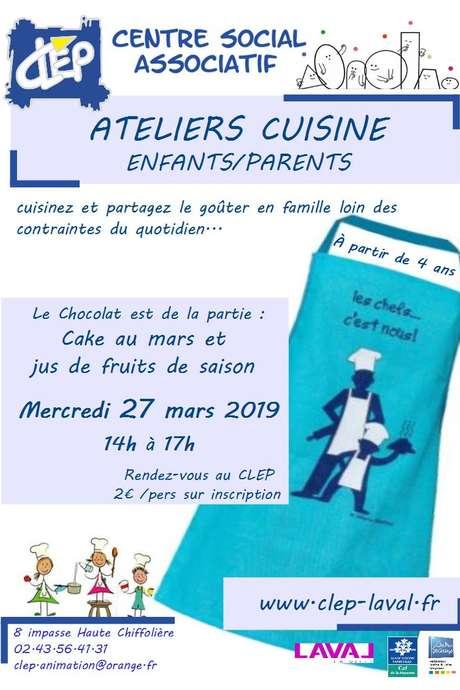 Atelier Cuisine enfants/parents